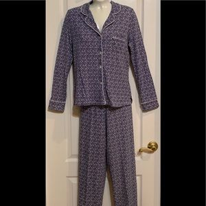 Saks Fifth Avenue 2 Piece Pajama Set Small